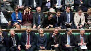 ترزا می در پارلمان بریتانیا