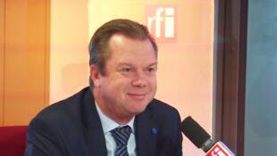 Jérôme Rivière, membre du conseil stratégique et conseiller Défense de Marine Le Pen.