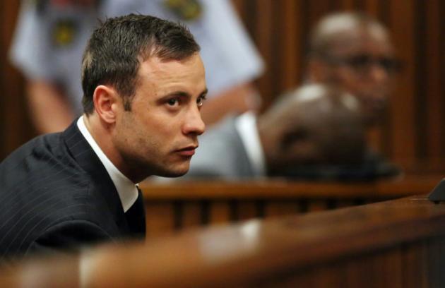 Oscar Pistorius wakati Mahakama ikitoa uamuzi Septemba 12, 2014 mjini Pretoria.