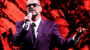 George Michael in concert in Vienna, September 4, 2012