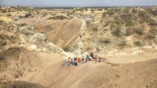 La vallée de l'Omo dans le sud-ouest de l'Ethiopie regorge de fossiles d'animaux anciens, mais aussi d'hominidés, datés de 3,2 à 1 million d'années.