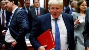 بوریس جانسون، وزیر خارجۀ انگلیس