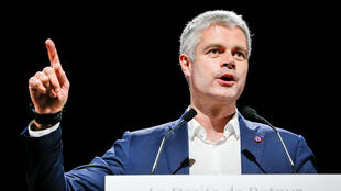 Laurent Wauquiez, líder do partido Os Republicanos