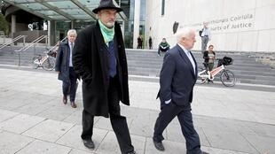 Former British journalist Ian Bailey, convicted of killing a French woman in Ireland in 1996, appeared at Dublin's Criminal Courts of Justice on Wednesday to fight his extradition to France to serve a 25-year murder sentence.