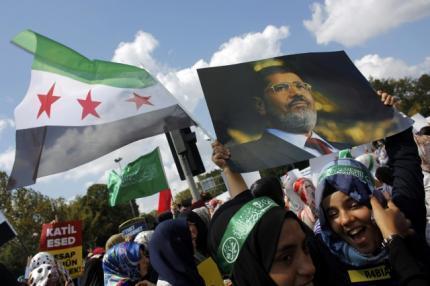 تظاهرات طرفداران اخوان المسلمین