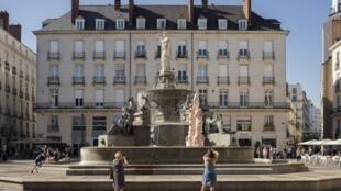 L'œuvre controversée «Fontaine» d'Elsa Sahal.