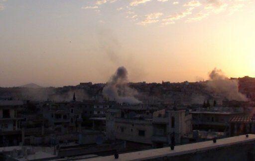 ادامه بمباران شهر Rastane توسط نیروهای ارتش