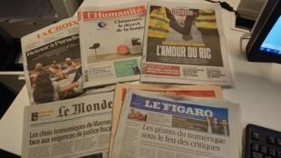 Diarios franceses  03.01.2019