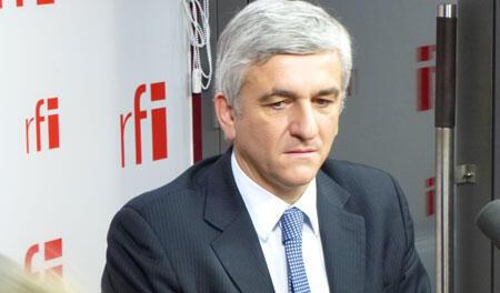 Hervé Morin, président du Nouveau Centre.