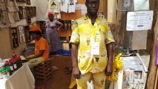 Mohamadou Souleymanou, inventeur d'une pompe à corde à Tignère au Cameroun