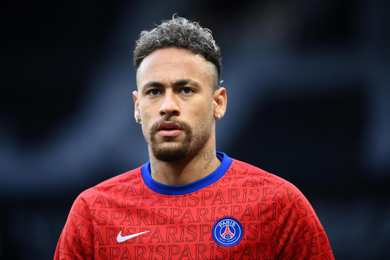 L'attaquant brésilien du Paris Saint-Germain, Neymar, le 16 mai 2021 au Parc des Princes à Paris