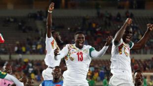 La joie des Lions du Sénégal, après leur qualification pour le Mondial 2018 en Russie.