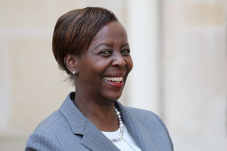 Louise Mushikiwabo, ministra dos Negócios Estrangeiros do Ruanda.