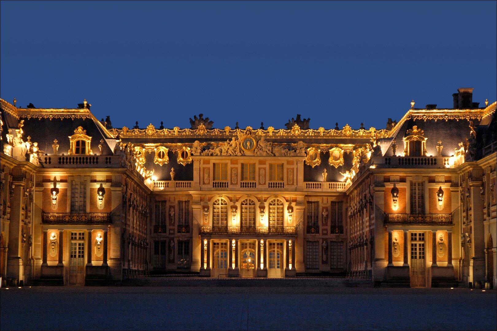 El Palacio de Versalles.