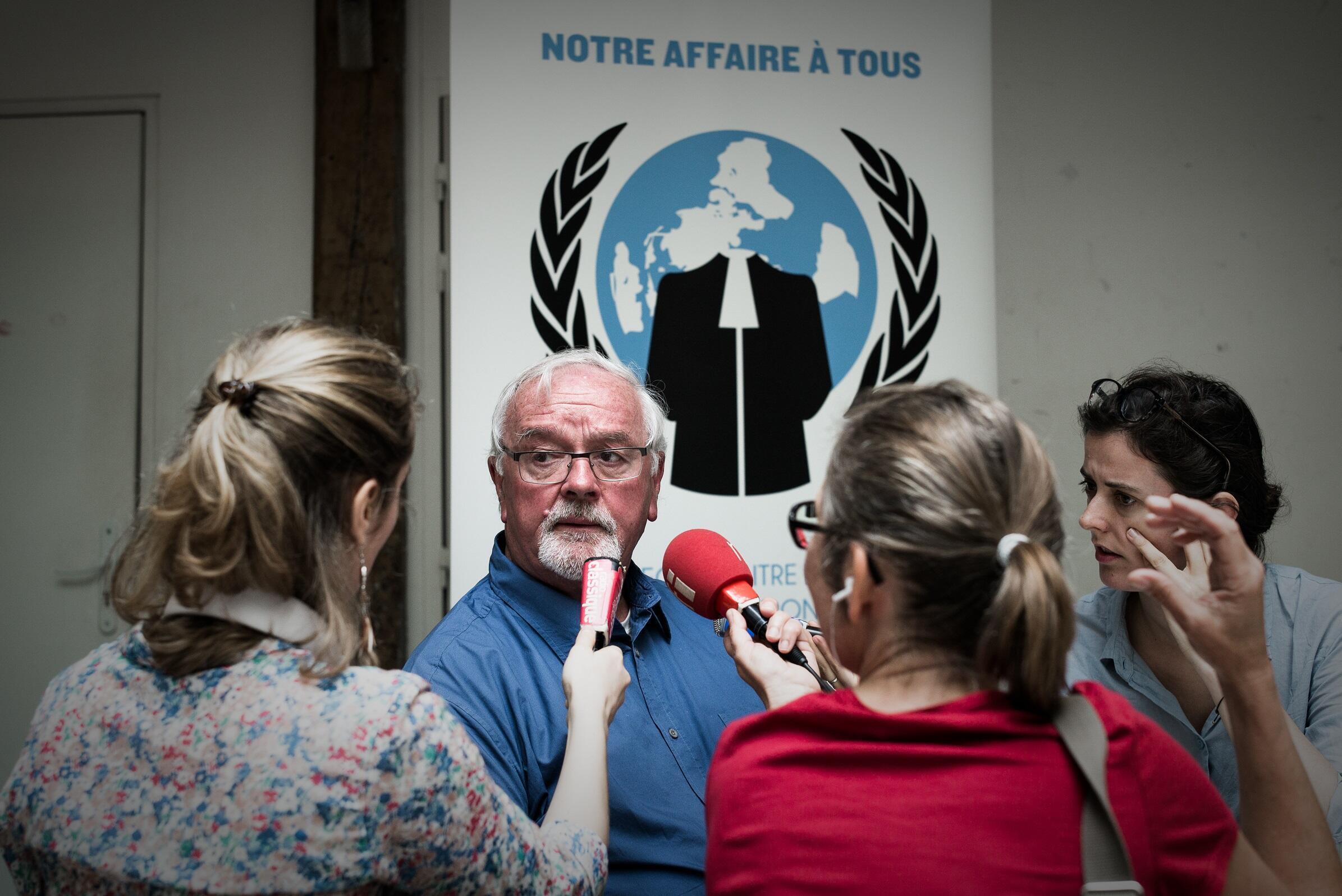 Le producteur de lavande Maurice Feschet, qui a déposé plainte contre l'Union européenne pour inaction climatique.