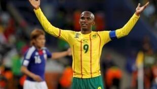 Face au Japon, Samuel Eto'o et le Cameroun se sont montrés impuissants.