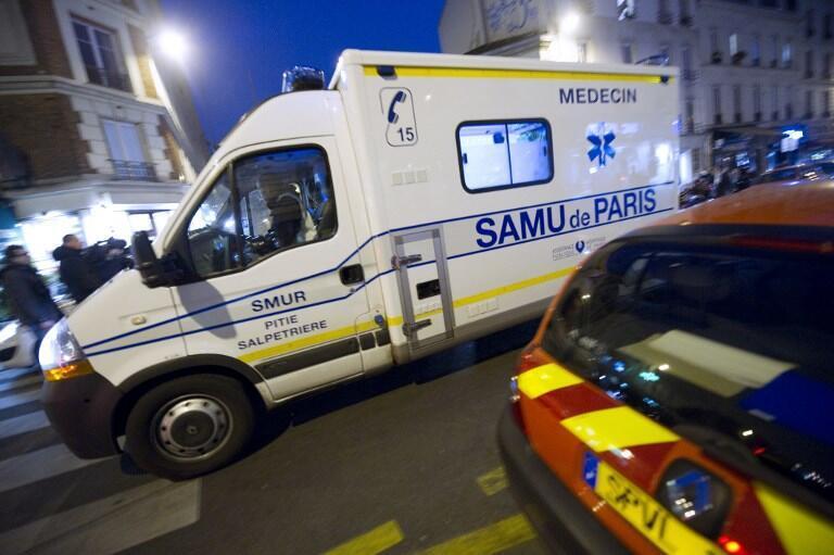 Une ambulance du Samu dans les rues de Paris. (Image d'illustration).