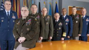 美國參謀長聯席會議資料圖片
