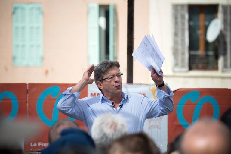Jean-Luc Mélenchon à Marseille, le 27 août 2017: notre société bascule vers «une organisation sociale qui tourne le dos à ce que le Conseil national de la Résistance et toutes les luttes de nos ancêtres ont forgé pour nous libérer».