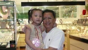 GS Phạm Minh Hoàng và con gái