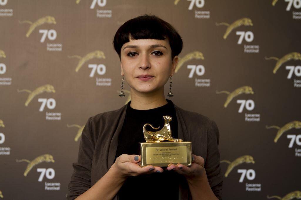 "Cristina Hanes, realizadora da curta-metragem ""António e Catarina"""
