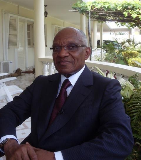 Miguel Trovoada, antigo presidente de São Tomé e Príncipe