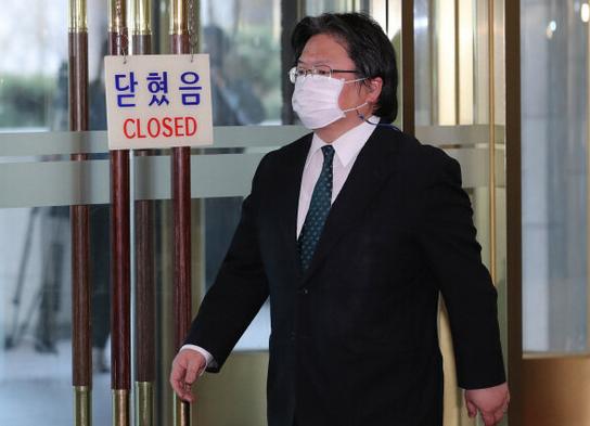 日本駐韓大使館總括公使相馬弘尚資料圖片
