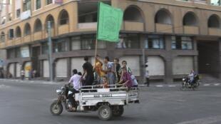 Mambobin kungiyar Hamas a Gaza