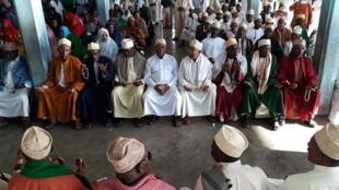 Un Hitma, une cérémonie religieuse comorienne, organisée par l'opposition, le 31 mars 2019.