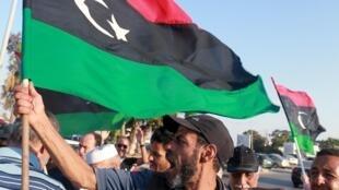 Znga-zanga a birin Benghazi na Libya