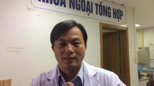 Bác sĩ La Văn Phú, trưởng Khoa Ngoại tổng hợp, Bệnh viện Đa khoa thành phố Cần Thơ.