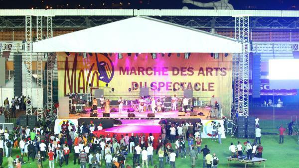 La cérémonie d'ouverture du Marché des arts du spectacle africain s'est déroulée au stade Félix Houphouët-Boigny, à Abidjan.
