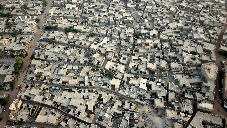 Vue aérienne de Tombouctou, au Mali, le 16 janvier 2020 (image d'illustration).