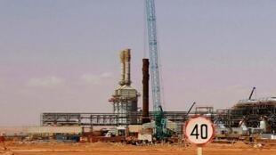 Refinaria de gás em In Amenas.