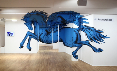 Pegasus anamorph by Truly Design