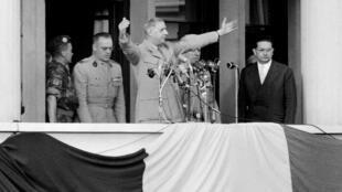 Visite officielle du général de Gaulle à Alger le 4 juin 1958