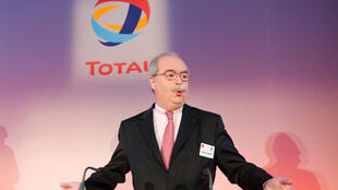 Le PDG du groupe Total, Christophe de Margerie, le 12 février 2009.