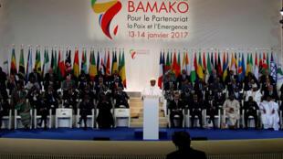 La «photo de famille» du XXVIIe sommet Afrique-France (image d'illustration).