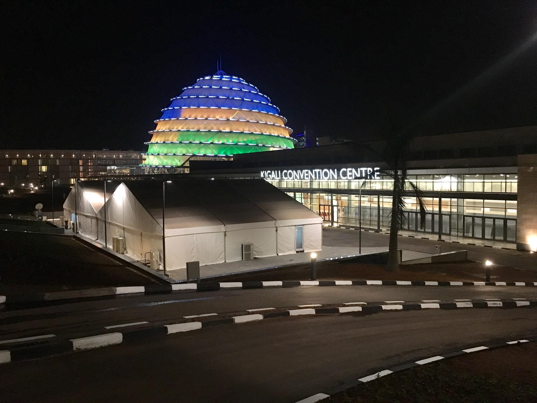 Centro de Convenções de Kigali, Ruanda