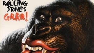 """O gorila com a famosa boca dos Rolling Stones estampa o álbum """"GRRR!"""" lançado nesta segunda-feira, 12 de novembro."""
