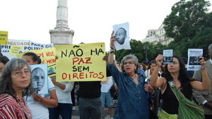 Le 14 octobre dernier, des centaines de manifestants, réunis place du Rossio, à Lisbonne, avaient déjà appelé à la libération des prisonniers angolais.
