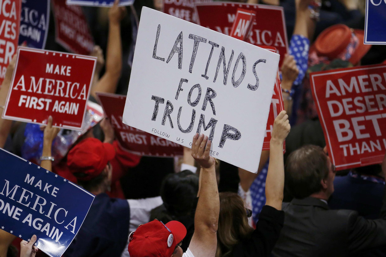 D'après un sondage récent, 24% de la communauté latino-américaine compte voter pour Donald Trump, contre 66% pour Hillary Clinton.
