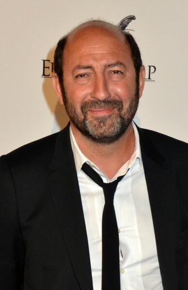 Le comédien Kad Merad, né en Algérie, fait partie de la délégation qui accompagne François Hollande.