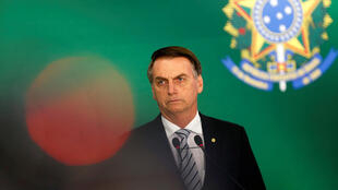 Brazil's President-elect Jair Bolsonaro attends a joint news conference with Brazil's President Michel Temer (not pictured) at the Planalto Palace in Brasilia, Brazil November 7, 2018.