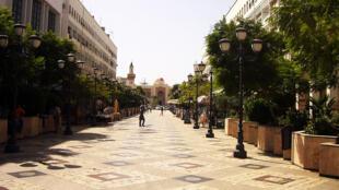 Le centre-ville de Sfax, en Tunisie.