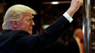 """Donald Trump vem repetindo que vai anular o acordo, que define como """"horrível"""""""