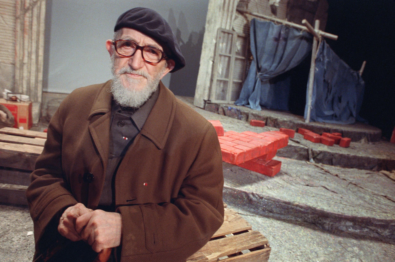 Анри Груэ (аббат Пьер) в Париже, 1988 г.
