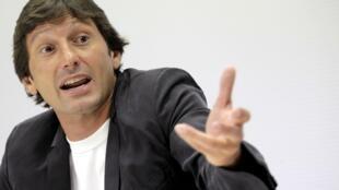 O diretor de futebol do PSG Leonardo