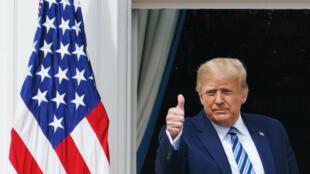 O presidente Donald Trump volta aos comícios na tentativa de recuperar votos antes das eleições de 3 de novembro.