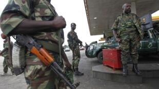 Des militaires ivoiriens.